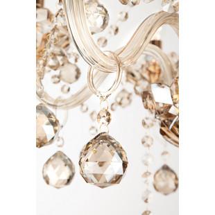 Люстра с тонированным хрусталем 10052/6 золото
