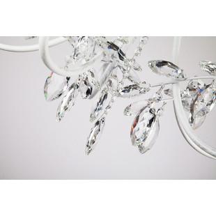 Люстра 60057/5 белый с серебром