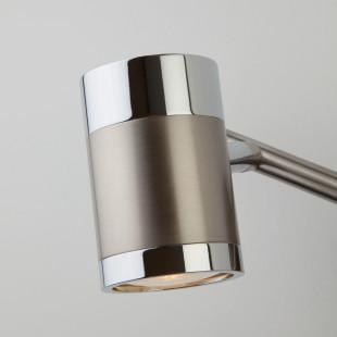 Настенный светильник с поворотными плафонами 20058/2 перламутровый сатин