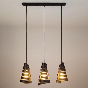 Подвесной светильник в стиле лофт 50058/3 черный