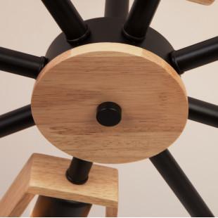 Потолочная люстра в стиле лофт 70056/8 черный