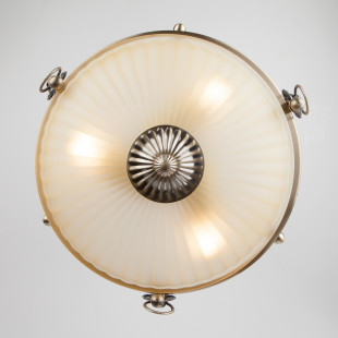 Классический потолочный светильник 89247/3 античная бронза
