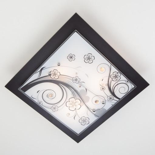 Настенно-потолочный светильник 2762/3 венге