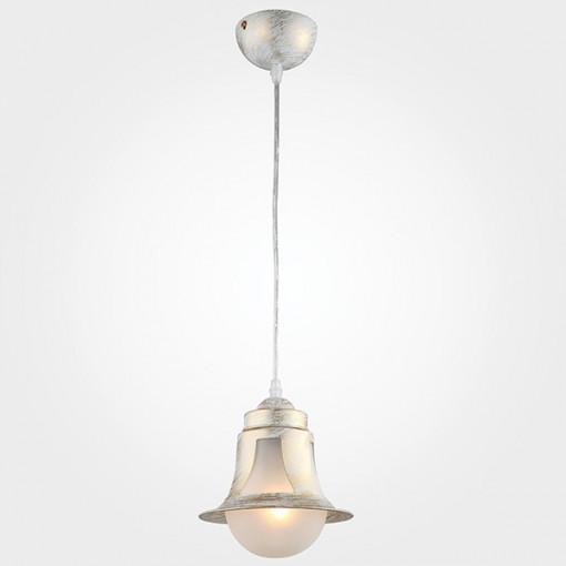 Подвесной светильник 50055/1 белый с золотом