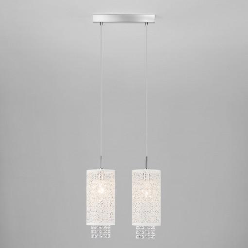 Подвесной светильник с хрусталем 1181/2 хром