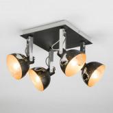 Потолочный светильник с поворотными плафонами 20069/4 черный