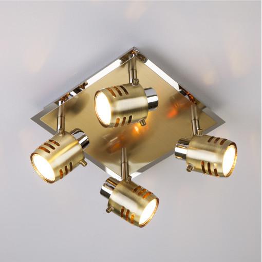 Спот 23463/4 хром / античная бронза