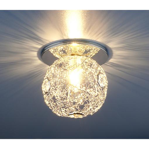 Светильник точечный 1002 G9 SL серебро