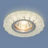 Встраиваемый потолочный светильник с LED подсветкой 2210 MR16 Matt Ice матовый лед