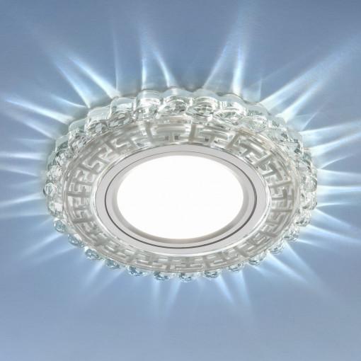 Встраиваемый потолочный светильник с LED подсветкой 2217 MR16 CL прозрачный