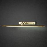 золото матовое Светильник настенный люминесцентный 885 n 16W
