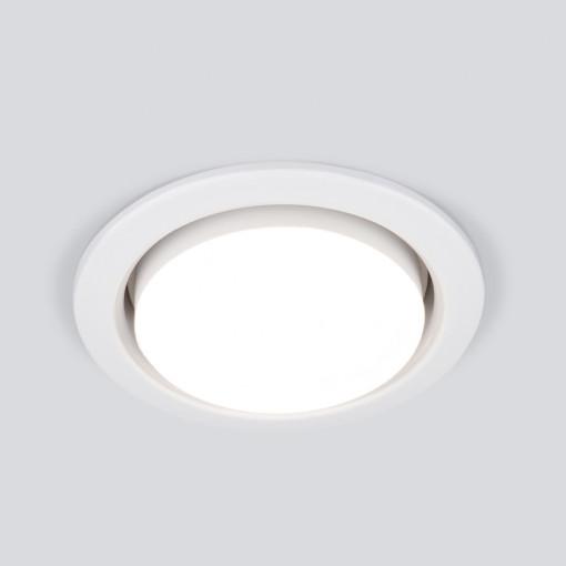Точечный светильник 1035 GX53 WH белый