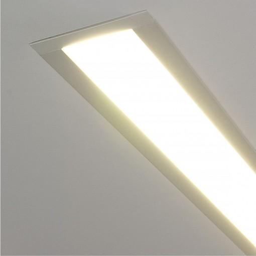 Профильный светодиодный светильник ССП встраиваемый 9W 600Lm 53см