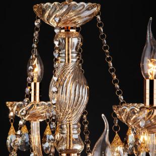 3543/8+4 золото/тонированный хрусталь Strotskis 3543/8+4