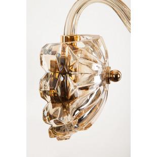 Бра с тонированным хрусталем 10052/1 золото