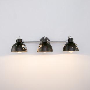 Настенный светильник с поворотными плафонами 20069/3 черный