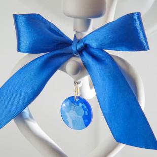 Бра с абажуром 60066/1 белый/синий