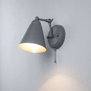 Бра в стиле лофт 70052/1 серый/серебро
