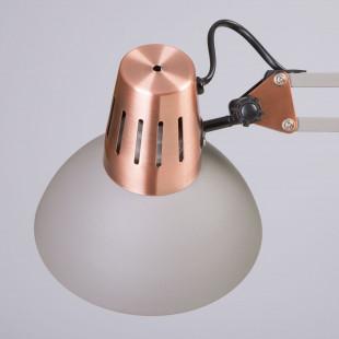 Лампа настольная с креплением к столу 01021/1 серый