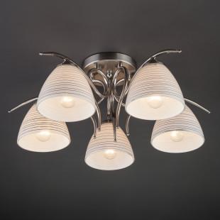 Потолочный светильник 30121/5 сатин-никель