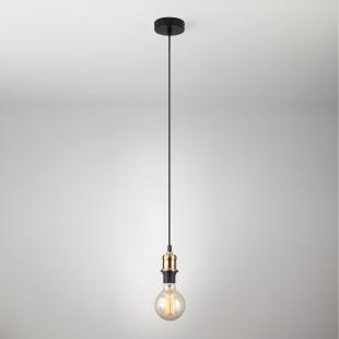 Подвесной светильник 40127/1 античная бронза