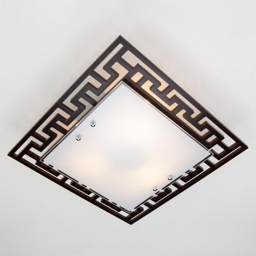 Потолочный светильник 2870/3 хром/венге
