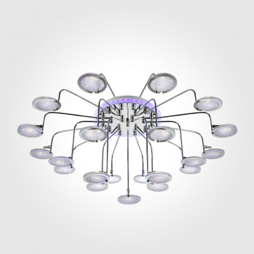 Потолочный светильник с LED подсветкой и пультом 80109/21 хром