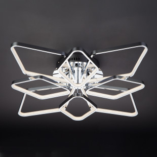 Светодиодный потолочный светильник 90081/8 хром