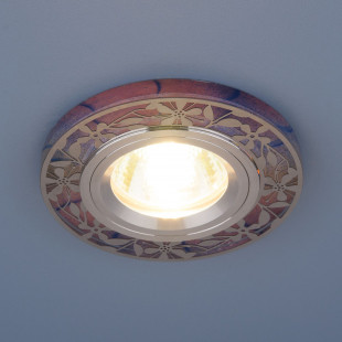 Встраиваемый точечный светильник с LED подсветкой 8096 MR16 PK