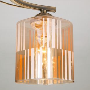 Потолочный светильник 30124/5 античная бронза