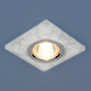 Точечный светильник светодиодный 8361 MR16 WH/SL белый/серебро