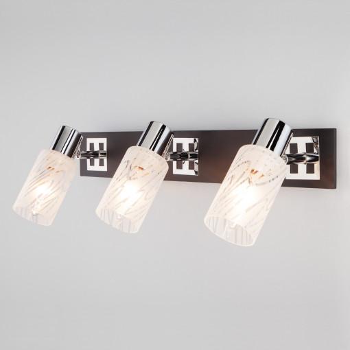 Настенный светильник 20020/3 хром/венге