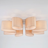 Потолочный светильник с абажурами 60083/8 хром