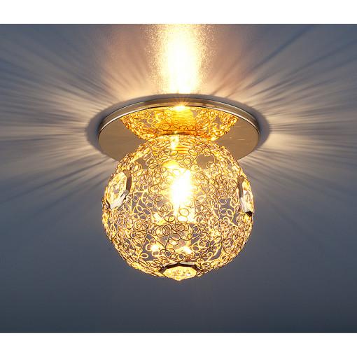 Светильник точечный 1002 G9 GD золото
