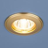 Точечный светильник 7002 MR16 GD матовое золото