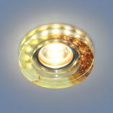 Точечный светильник со светодиодами 2190 MR16 YL желто-терракотовый