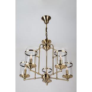 Подвесная люстра в стиле лофт 60040/5 античная бронза