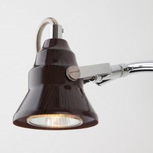 Настенный светильник с поворотными плафонами 20062/2 хром/венге