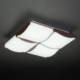 Светодиодный потолочный светильник 90031/4 кофе