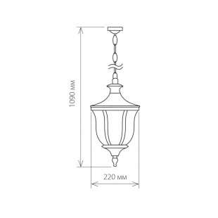 Taurus H малахит уличный подвесной светильник GLXT-1458H