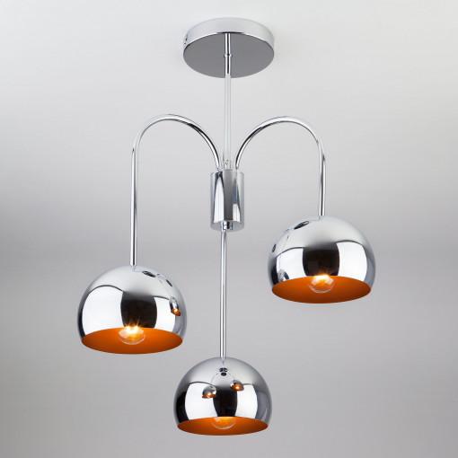 Подвесной светильник в стиле Лофт 70067/3 хром