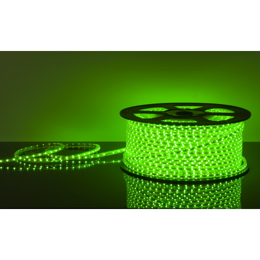 Светодиодная лента LSTR001 220V 4,4W IP65 зеленый