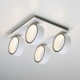 Светодиодный потолочный светильник с поворотными плафонами 20068/4 LED белый