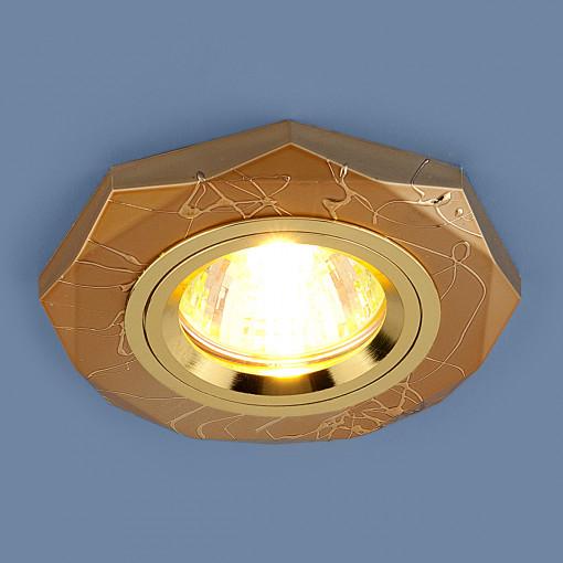 Точечный светильник 2040 MR16 GD золото