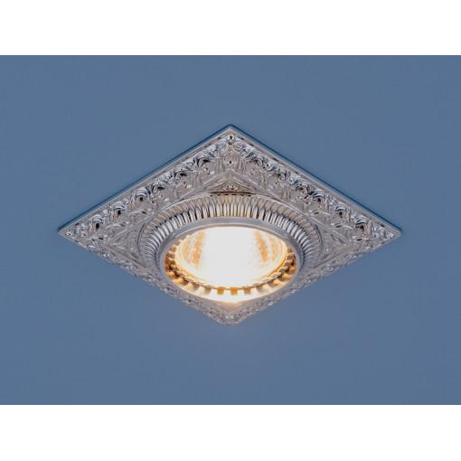 Точечный светильник для подвесных, натяжных и реечных потолков 4104 MR16 CH хром