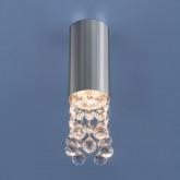 Накладной точечный светильник с хрусталем 1084 GU10 CH хром