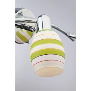 Настенный светильник с поворотными плафонами 20055/3 хром