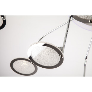 Потолочная люстра с пультом ДУ 80109/12 хром