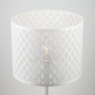 Настольная лампа 01018/1 белый