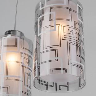 Подвесной светильник 50002/3 хром
